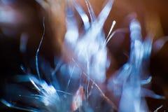 Abstraktes, buntes Makro eines Ziegenpelzes lizenzfreies stockfoto