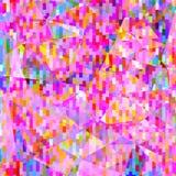 Abstraktes buntes poligonal geometrischer Hintergrund Stockbilder