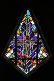 Abstraktes Buntglas stockbilder