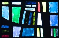 Abstraktes Buntglas Lizenzfreies Stockbild