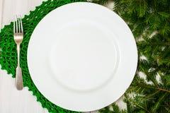 Abstraktes ChAbstract-Weihnachten und neues Jahr-Hintergrund mit altem V Stockfotografie
