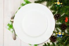 Abstraktes ChAbstract-Weihnachten und neues Jahr-Hintergrund mit altem V Stockfoto