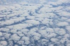 Abstraktes cloudscape Stockbilder