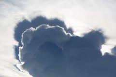 Abstraktes cloudscape im Himmel von Rurrenabaque, Bolivien Lizenzfreie Stockbilder