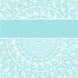 Abstraktes cyan-blaues Muster Lizenzfreies Stockfoto