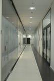Abstraktes 3d übertrug Innenraum Lizenzfreie Stockfotografie