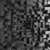 Abstraktes 3D berechnet des Block-Tapeten-Hintergrundes Stockbilder