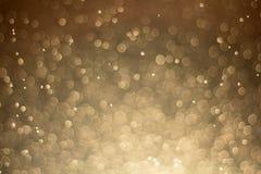 Abstraktes defocused Lichter bokeh als Spraywasserhintergrund, unterscheiden sich Lizenzfreie Stockfotos