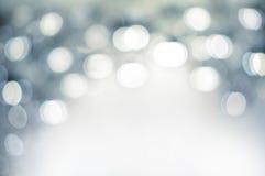 Abstraktes defocused weißes Licht Stockbilder