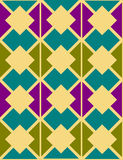 Abstraktes dekoratives geometrisches stock abbildung