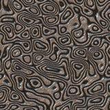 Abstraktes Design in der Metallwässerung Lizenzfreie Stockbilder