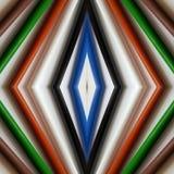 abstraktes Design mit farbigen Bleistiften, Hintergrund und Beschaffenheit Lizenzfreie Stockbilder