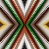 abstraktes Design mit farbigen Bleistiften, Hintergrund und Beschaffenheit Stockbild