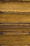 Abstraktes Detail der alten Bücher Lizenzfreie Stockfotos