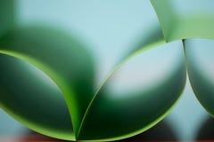 Abstraktes Detail der wellenartig bewogenen Struktur des farbigen Papiers Lizenzfreies Stockbild