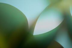 Abstraktes Detail der wellenartig bewogenen Struktur des farbigen Papiers Stockbilder