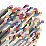 Abstraktes Diagramm Lizenzfreie Stockfotos