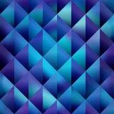 Abstraktes Diamantmuster - nahtloser Hintergrund - Dekorationsmaterial - bläulicher Schatten vektor abbildung