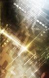 Abstraktes digitales Unternehmenshintergrunddesign Lizenzfreie Stockfotos