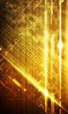 Abstraktes digitales Unternehmenshintergrunddesign Stockbild