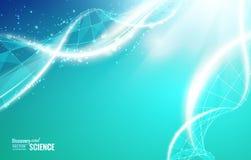 Abstraktes DNA-Design Stockfoto
