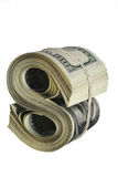 Abstraktes Dollarzeichen Lizenzfreie Stockbilder