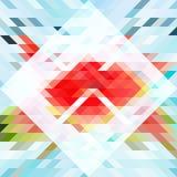 Abstraktes Dreieck bg27 Stockbild