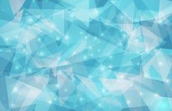 Abstraktes Dreieck-geometrischer Hintergrund Stockbilder