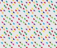 Abstraktes Dreieck-geometrischer Hintergrund Geometrischer Klaps der Unendlichkeit Lizenzfreies Stockfoto