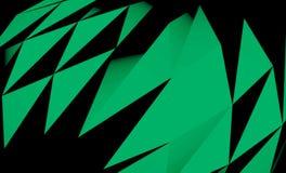 Abstraktes Dreieck-Muster Lizenzfreies Stockbild