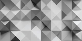 Abstraktes Dreieck und Quadrat Stockfoto