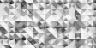 Abstraktes Dreieck und Quadrat Stockfotos