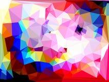 Abstraktes Dreiecke bacground Lizenzfreies Stockbild