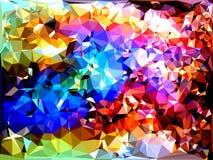 Abstraktes Dreiecke bacground Stockfotos
