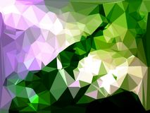 Abstraktes Dreiecke bacground Stockfoto