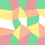 Abstraktes Dreieckhintergrundunterschiedliches stilvoll gefärbt Stockfotografie