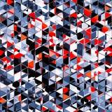 Abstraktes dreieckiges modernes Musterdesign lizenzfreie abbildung