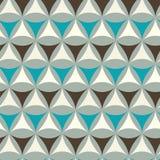 Abstraktes Dreieckmuster Stockfotos