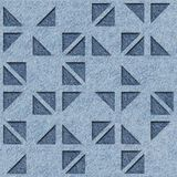 Abstraktes Dreieckmuster - dekorative dreieckige Art stock abbildung