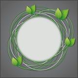 Abstrakter Eco kreativer Hintergrund Lizenzfreies Stockfoto