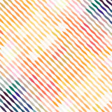 Abstraktes einfaches diagonales wavespattern für Papier- und Gewebedesign Stockbilder