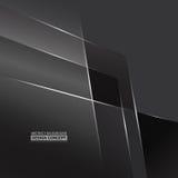 Abstraktes einfarbiges Grau taucht Hintergrund auf Lizenzfreie Stockfotografie