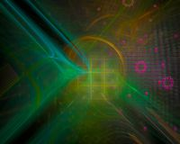 Abstraktes Entwurfsfestival Digital, Fantasiehintergrund, Disco, Partei stilvoll vektor abbildung