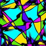 Abstraktes Farbmuster in der Graffitiart f?r Ihr Design stock abbildung