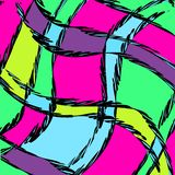 Abstraktes Farbmuster in der Graffitiart f?r Ihr Design vektor abbildung