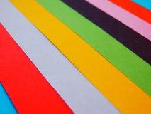 Abstraktes Farbpapier bedeckt Hintergrund Lizenzfreies Stockbild