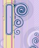 Abstraktes Feld. Stockbild