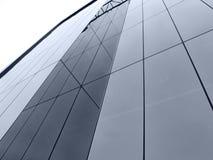 Abstraktes Fenster-Gebäude stockbilder
