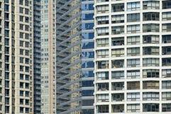 Abstraktes Fenstermuster Stockfotografie