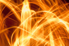 Abstraktes Feuer Lizenzfreie Stockfotos